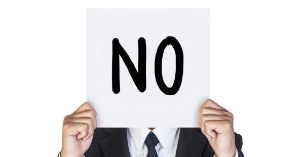 Il suffit de dire non